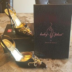 """Baby Phat """"HONEYSLING"""" Shoes"""